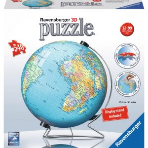 World Globe 3D 540 Piece Puzzle
