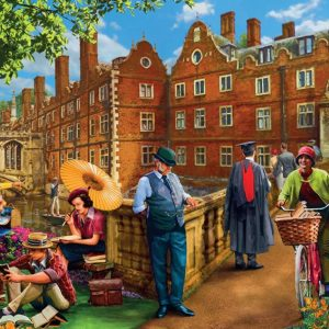 Afternoon in Cambridge 1000 Piece Jigsaw Puzzle