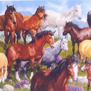 British Native Ponies 1000 PC Jigsaw Puzzle