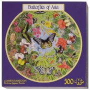 Butterflies of Asia 500 PC Jigsaw Puzzle