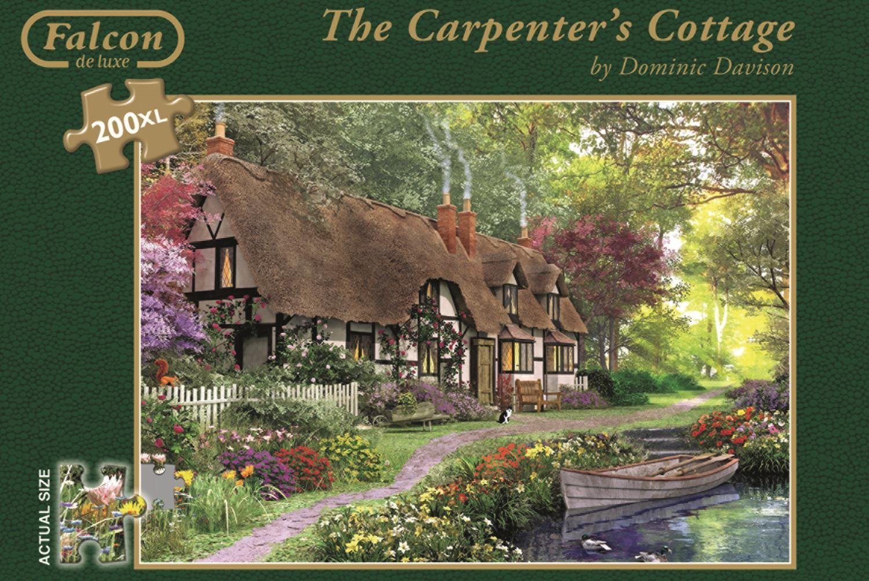 Carpenters Cottage 200 XL Piece Jigsaw Puzzle