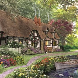 Carpenter's Cottage 200 XL Piece Jigsaw Puzzle