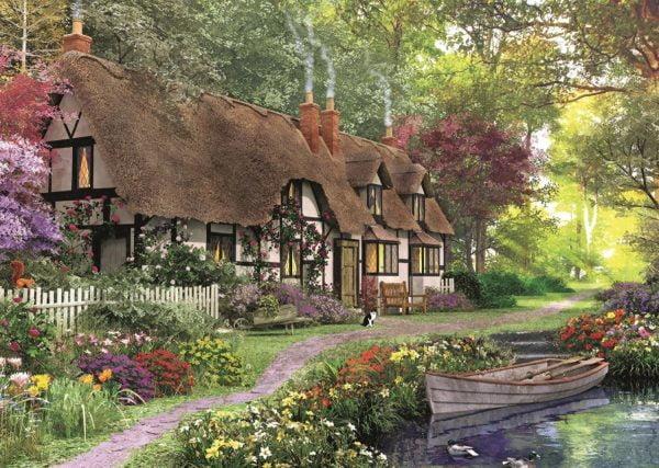 Carpenter's Cottage 200 XL Piece Jigsaw Puzzle