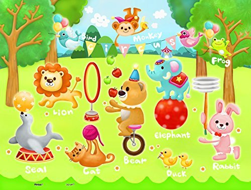 Circus in the Forest 48 PC Jigsaw Puzzle