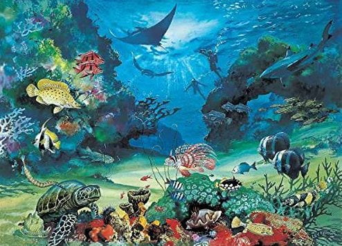 Great Barrier Reef 1000 PC Jigsaw Puzzle