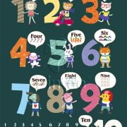 Learning to Count 48 PC Pinto Jigsaw Puzzle