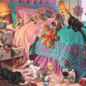 Mischievous puppies 200 XL PC Jigsaw Puzzle