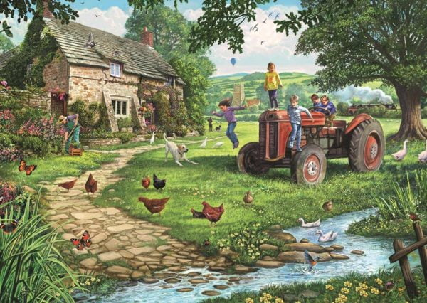 Old Tractor 200 XL Piece Jigsaw Puzzle