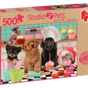 Studio Pets Cupcakes 500 Piece Jigsaw Puzzle