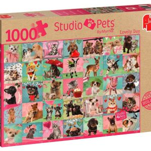 Studio Pets Lovely Day 1000 Piece Jigsaw Puzzle