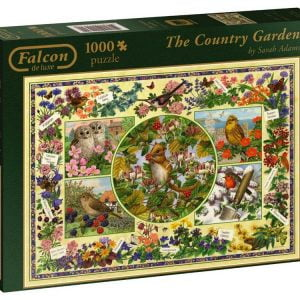 The Country Garden 1000 piece Jigsaw Puzzle