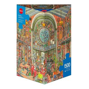 Adolfsson Curiosity Cabinet 1500 PC Jigsaw Puzzle