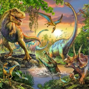 Ancient Dinos 200 PC Jigsaw Puzzle