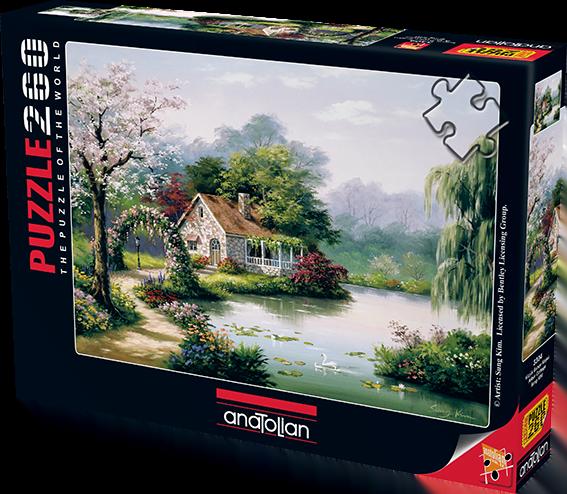 Arbor Cottage 260 PC Anatolian Jigsaw Puzzle