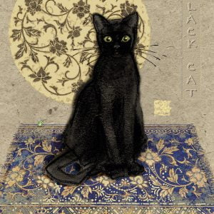 Black Cat 1000 PC heye Jigsaw Puzzle