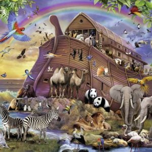 Boarding the Ark 150 PC Jigsaw Puzzle