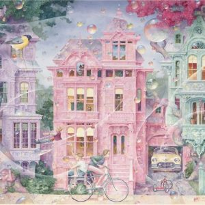 Bubble Street 1000 Piece Jigsaw Puzzle