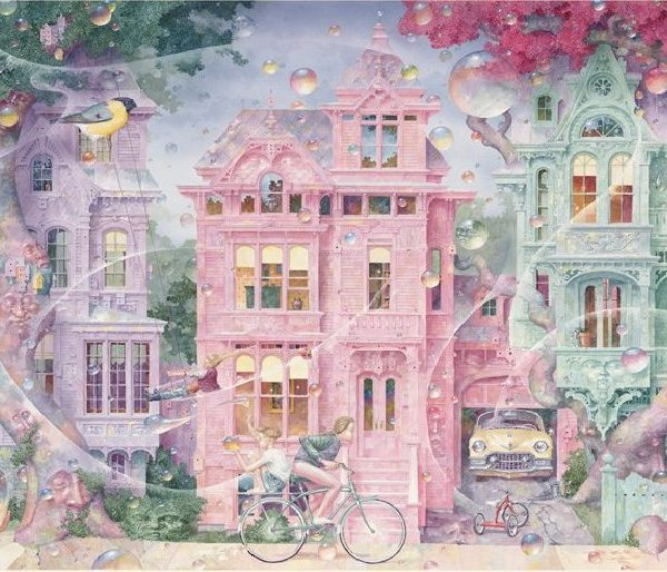 Bubble Street 1000 Piece Jigsaw Puzzle
