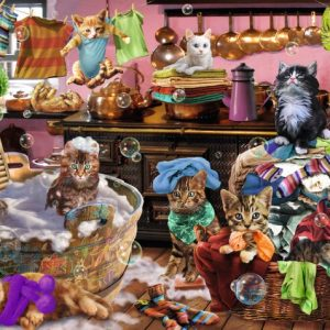 Cats in the Kitchen 150 PC Jigsaw Puzzle