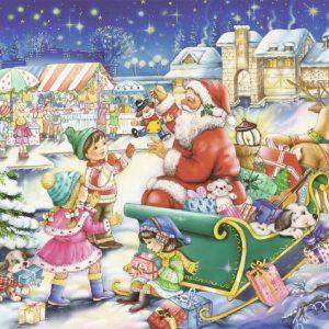 Christmas Joy 500 PC Jigsaw Puzzle