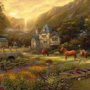 Chuck Pinson - The Golden Valley 1000 Piece Puzzle