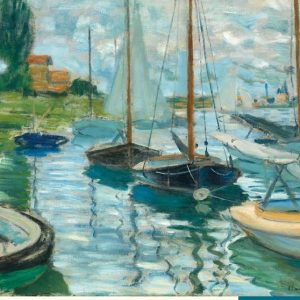 Claude Monet Sailboats on the Seine 1000 PC Jigsaw Puzzle