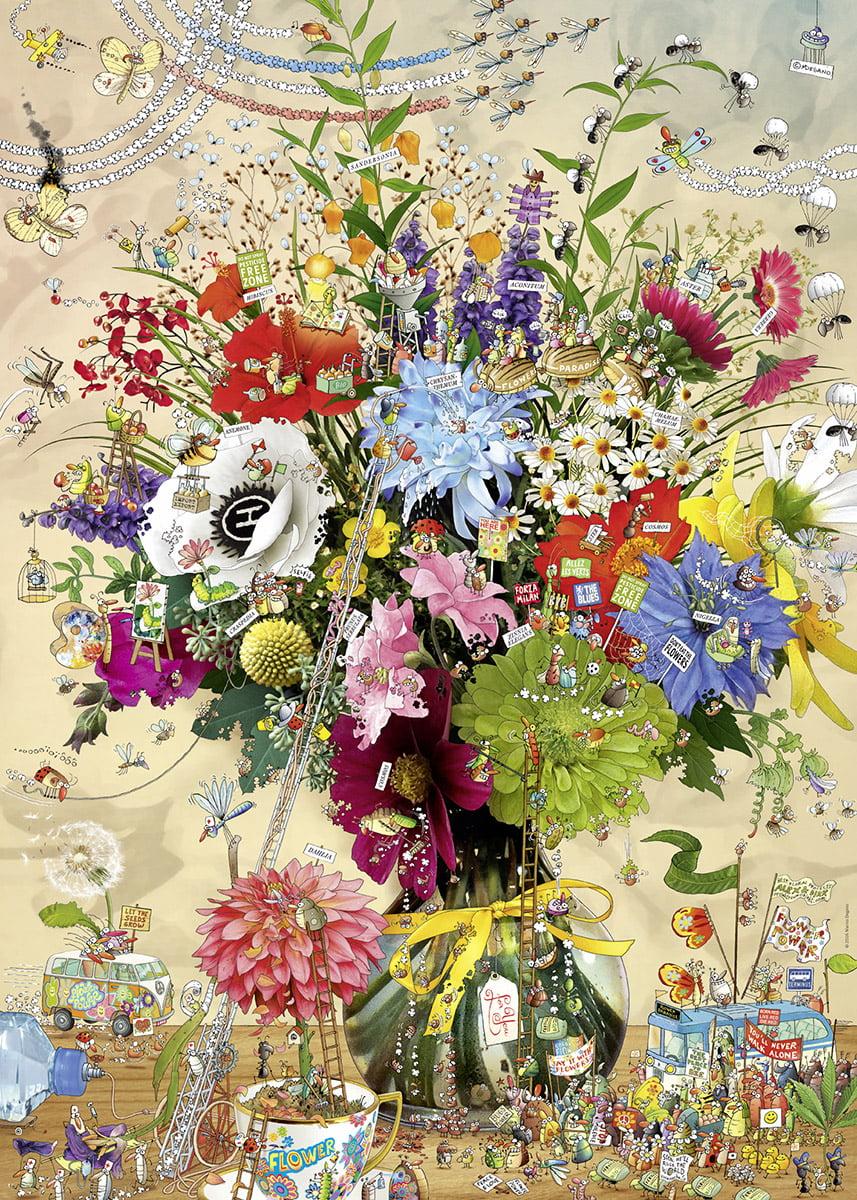 Heye Jigsaw Puzzle Flower S Life 1000 Pc By Artist Degano