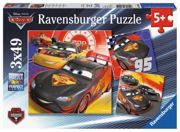 Disney Adventure on the Road 3 x 49 PC Jigsaw Puzzle
