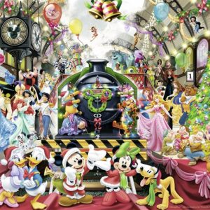 Disney Christmas Train 500 PC Jigsaw Puzzle