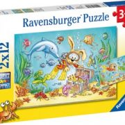 Diving Adventure 2 x 12 PC Ravensburger Jigsaw Puzzle