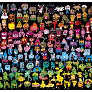 Doodle Rainbow 1000 PC Jigsaw Puzzle