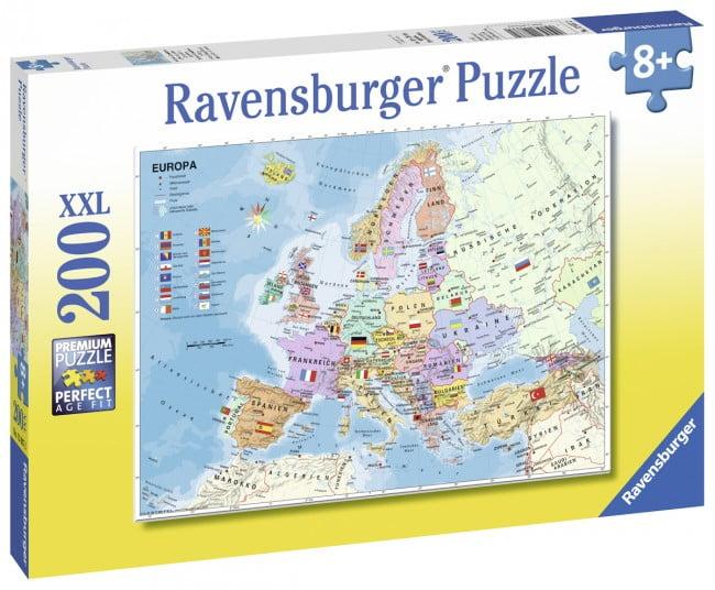 Jigsaw puzzle australia online store puzzle palace australia european map 200 pc jigsaw puzzle gumiabroncs Choice Image