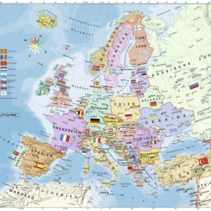 European Map 200 PC Jigsaw Puzzle