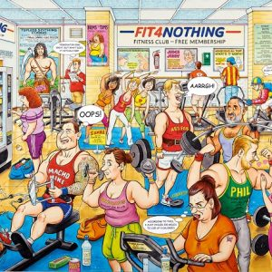 Fit 4 Nothing 500 PC Jigsaw Puzzle