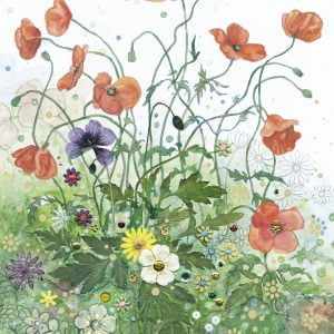 Florals Red Poppies 1000 Piece Jigsaw Puzzle