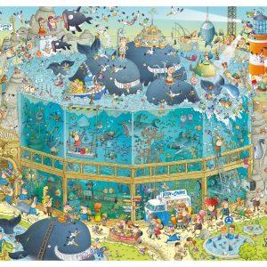 Funky Zoo - Ocean Habitat 1000 PC Jigsaw Puzzle