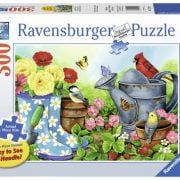 Garden Traditions 300 PC Large Format Jigsaw Puzzle