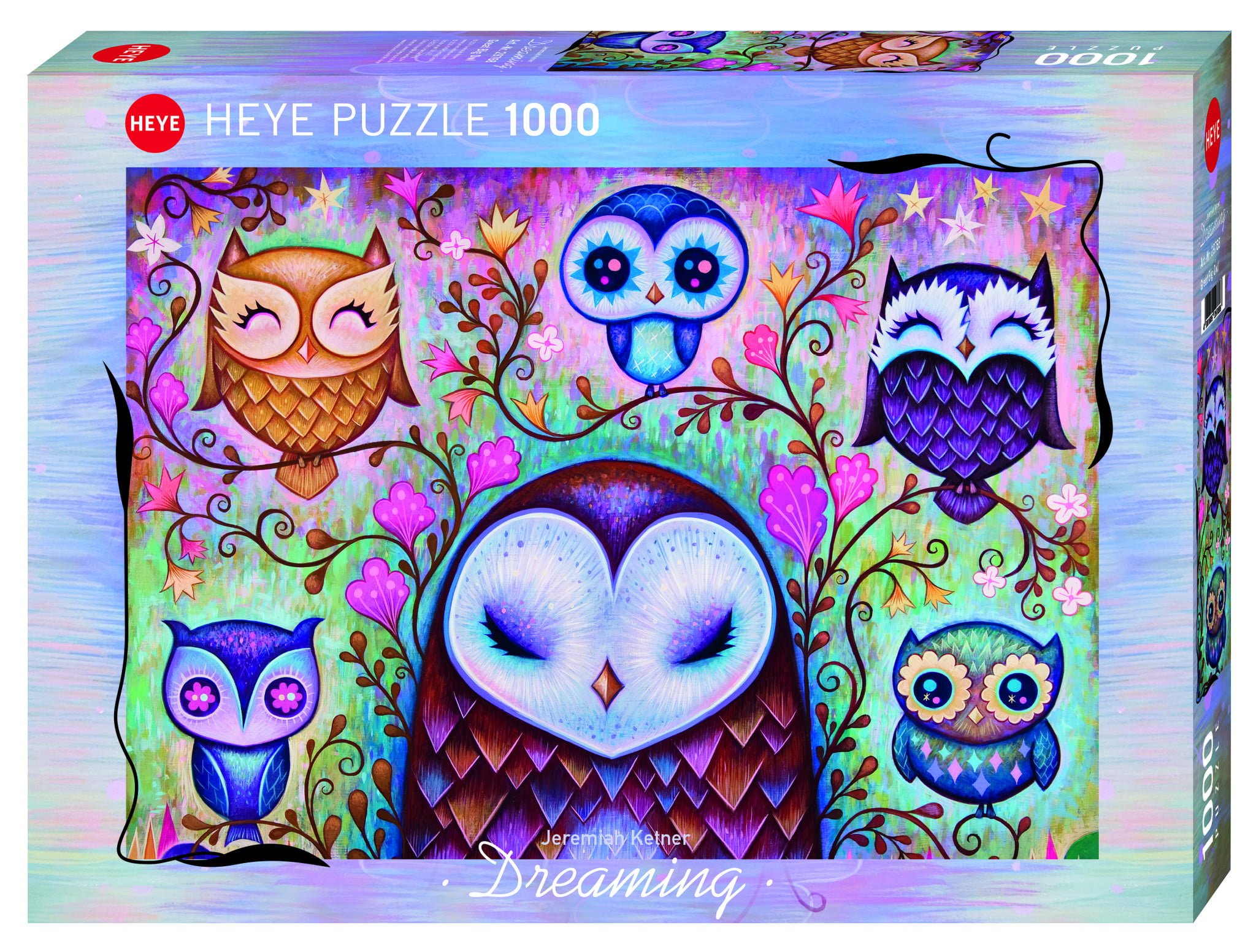 Great Big Owl 1000 PC Jigsaw Puzzle