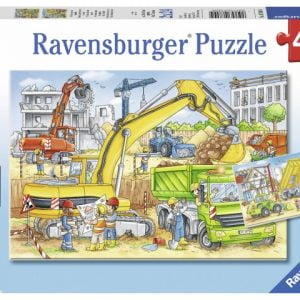 Hard at Work 2 x 24 PC Jigsaw Puzzle