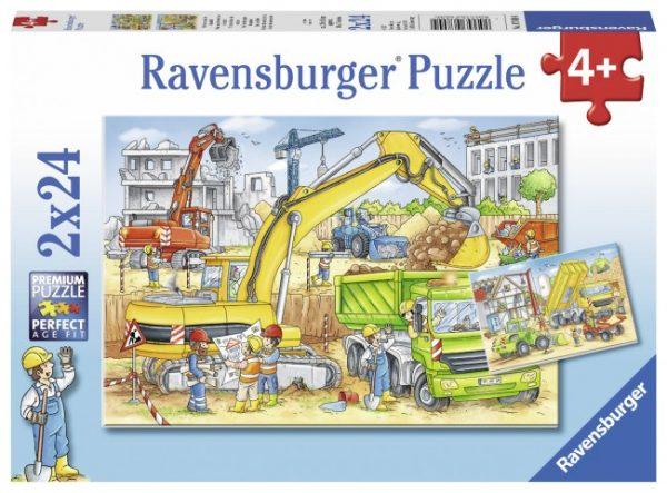 Hard at Work 2 x 24 PC Jigsaw Puzzle