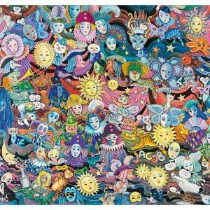 Hartmann Masquerade 1000 PC Heye Jigsaw Puzzle
