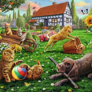 In the Yard 200 XXL PC Jigsaw Puzzle