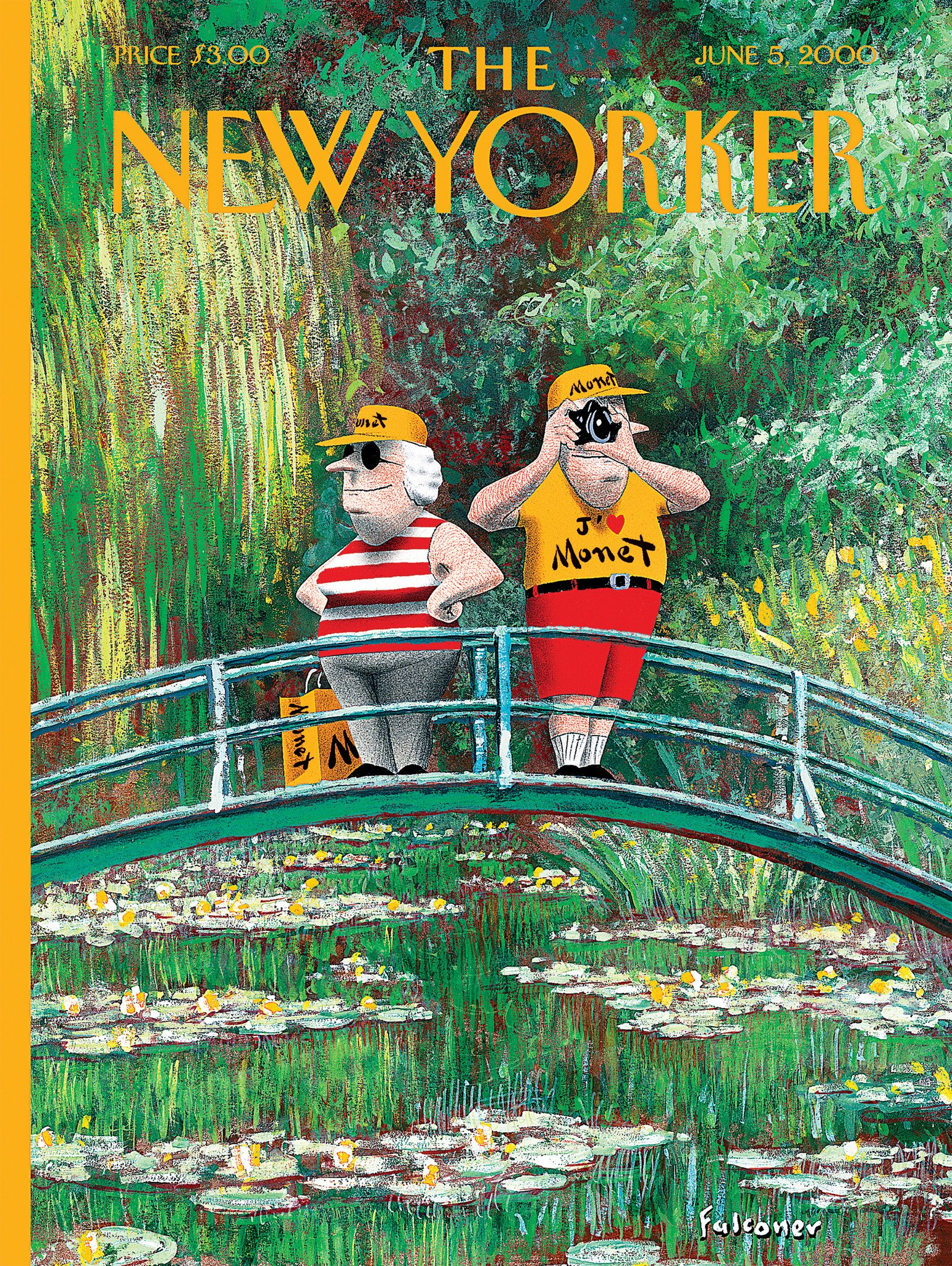New York And Company Credit Card Payment >> THE NEW YORKER - 750 PC M'AIME MONET JIGSAW PUZZLE