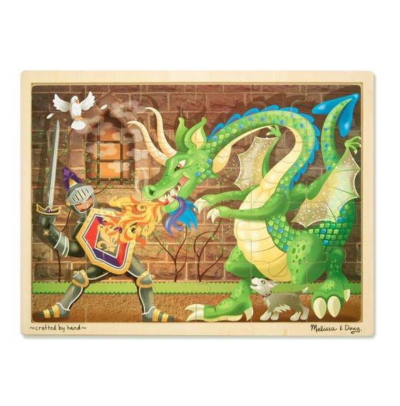 Knight & Dragon 48 PC Jigsaw Puzzle