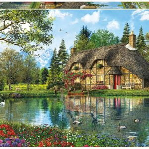 Lake View Cottage 2000 PC Jigsaw Puzzle