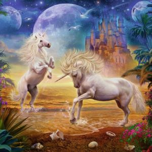 Magical Unicorn 500 PC Jigsaw Puzzle