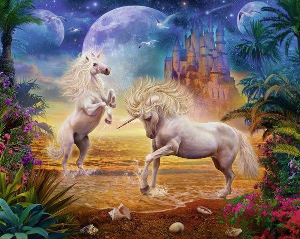 Magical Unicorns 500 Pc Ravensburger Jigsaw Puzzle