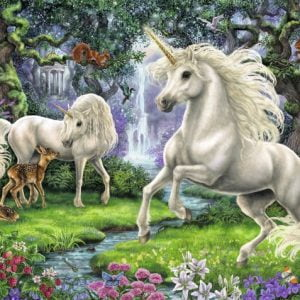 Mystical Unicorns 200 PC Jigsaw Puzzle