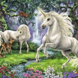 Mystical Unicorns 200 PC Jigsaw Puzzle