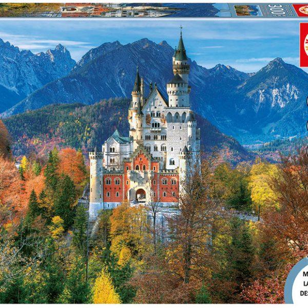 Neuschwanstein Castle 300 XXL PC Jigsaw Puzzle